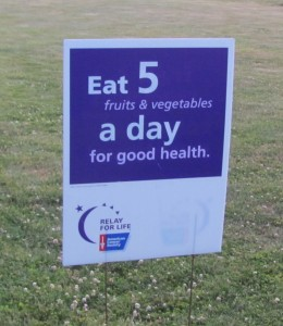 Did you eat five yesterday?